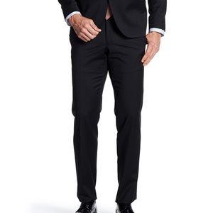 Ted Baker London Black Wool Dress Pants